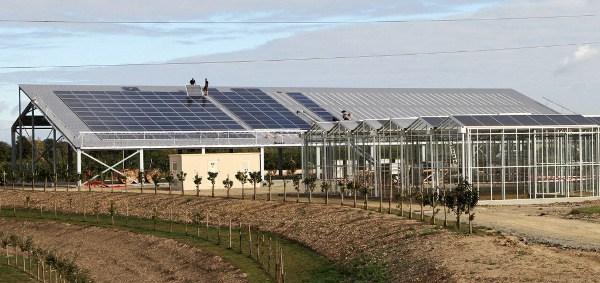 permaculture maroc serre photovoltaique