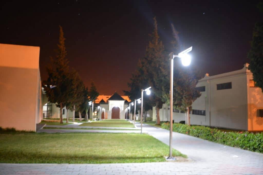 ecole lampe solaire maroc