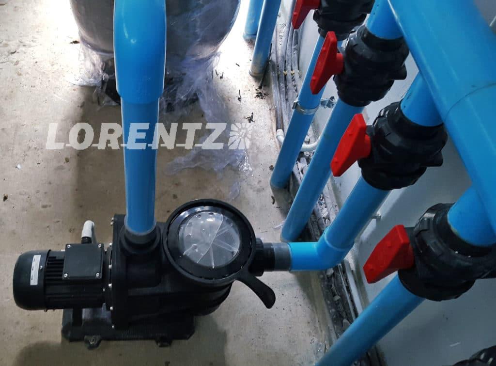 Pompe Solaire Filtration Piscine Lorentz Maroc
