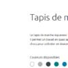 tapis T1